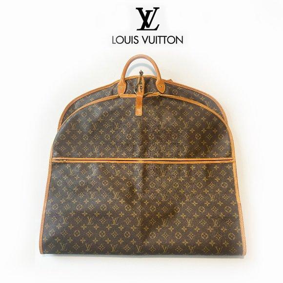 Authentic Louis Vuitton Folding Garment Bag